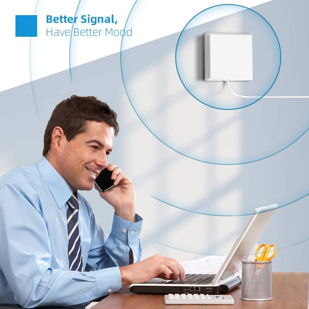 Tim,Wind,Vodafone - chiamate e Internet 4G LTE per Amplificare Il Segnale Cellulare in casa o in Ufficio Versione Aggiornata ANNTLENT RIPETITORE gsm 4G 800//900MHz