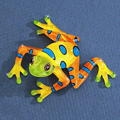 Glass Baron Frog Rain Forest (Crystal Frog Figurine)