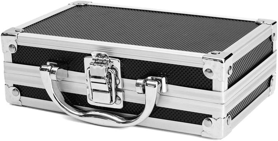 RoSoy - Caja de Transporte de Aluminio portátil Caja de Herramientas Organizador de Almacenamiento Portaherramientas de Viaje: Amazon.es: Hogar