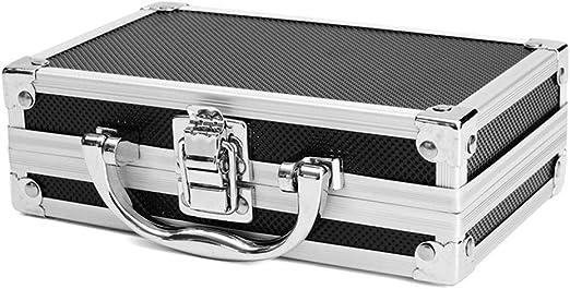 RoSoy - Caja de Transporte de Aluminio portátil Caja de ...