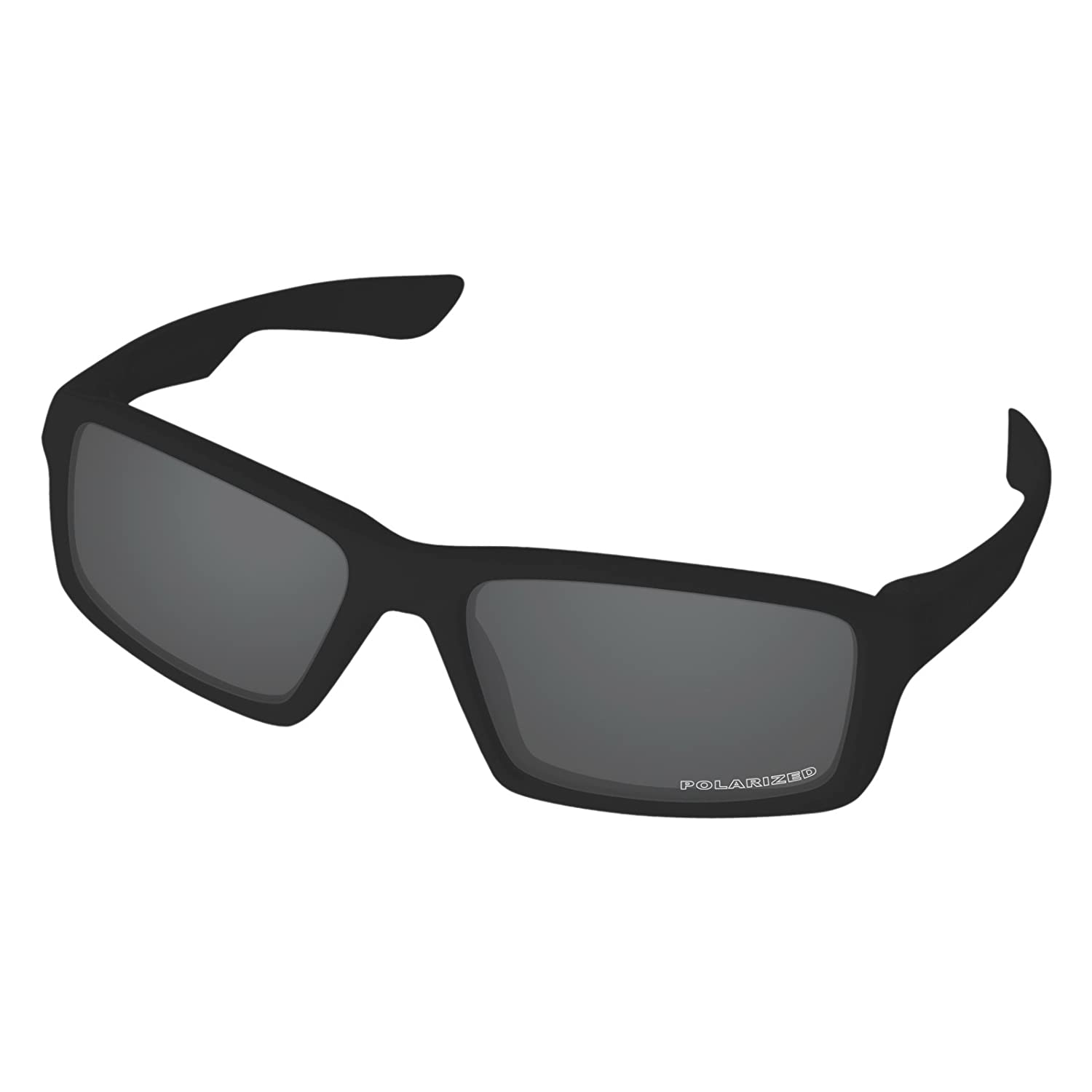 9e0cf0a945 Amazon.com  Tintart Performance Replacement Lenses for Oakley Twitch  Sunglass Polarized Etched-Carbon Black  Clothing