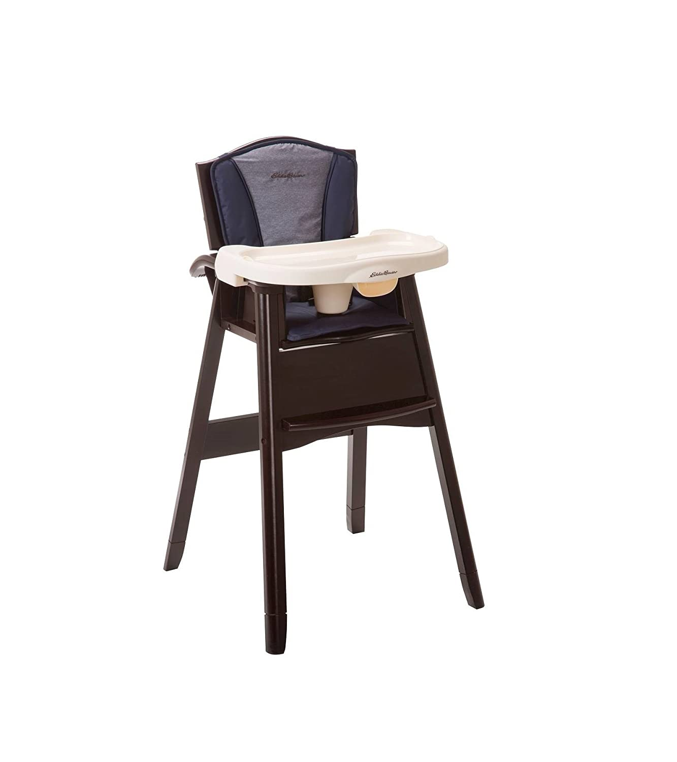 Amazon Ed Bauer Classic 3 in 1 Wood High Chair Twilight