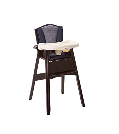 Beau Amazon.com : Eddie Bauer Classic 3 In 1 Wood High Chair Twilight Blue : Baby