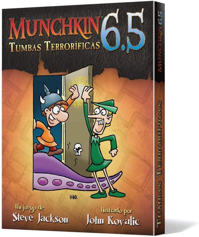 Edge Entertainment- Munchkin 6.5: Tumbas Terroríficas, Color (EESJMU84): Amazon.es: Juguetes y juegos