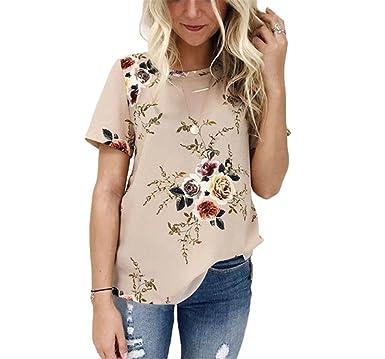 Women Summer Print Blouses NEW Short Sleeve Casual O-Neck Harajuku Tee Shirts Femme Loose