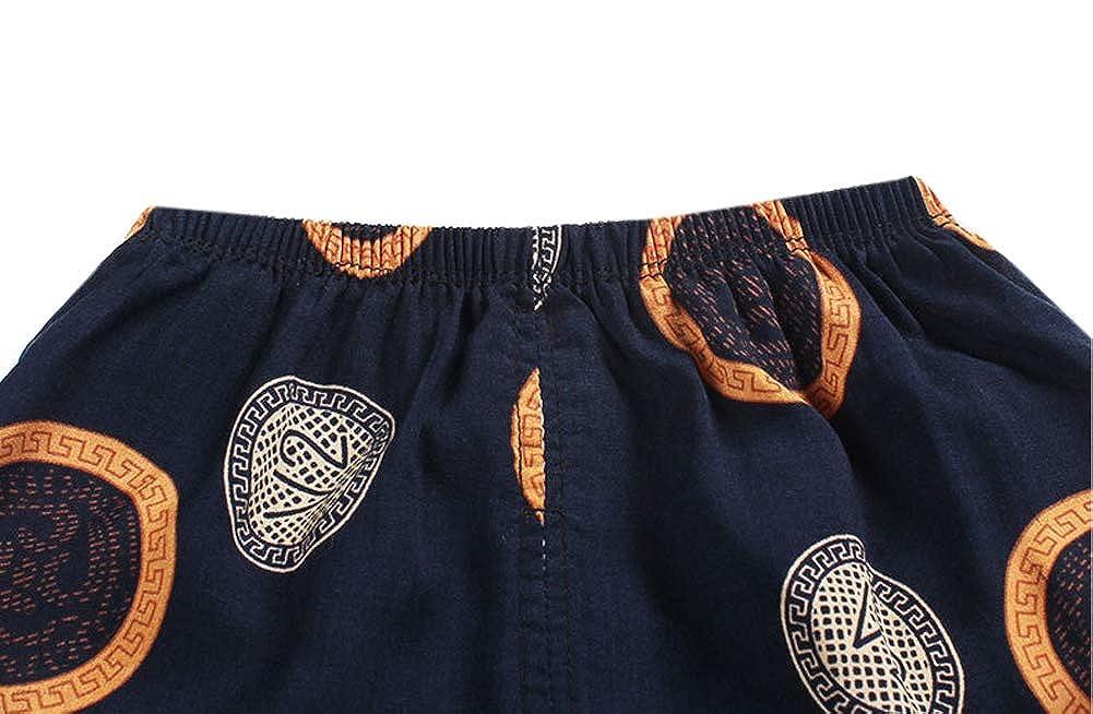 Habigua Little Boys Girls Summer Breathable Pajama Snug Fit Pjs Set Orange