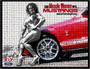 2008 Muscle Women with Mustangs Calendar