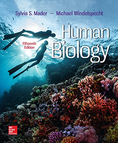 Loose Leaf for Human Biology -  Sylvia S. Mader Dr., 15th Edition
