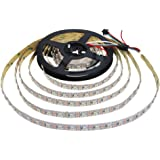 Aclorol WS2812B Individually Addressable RGB LED Strip 16.4ft 300 Pixels 5V Programmable WS2812B WS2812 5M 60 Pixels/M Strip Lighting Non-waterproof Work Arduino, Raspberry Pi