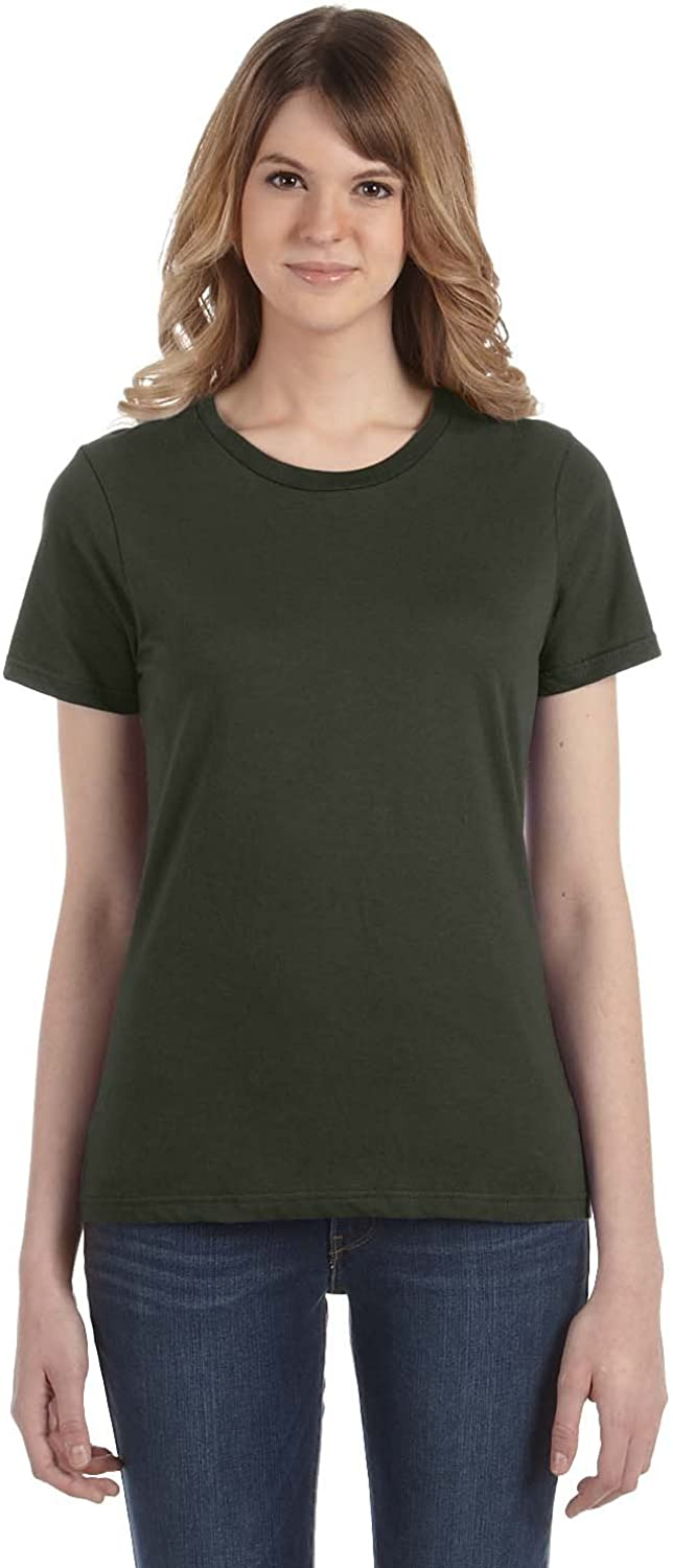 Anvil Ladies 100/% Ring Spun Cotton T-Shirt