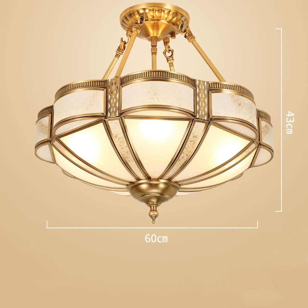 Best American Retro All Copper Crystal Chandelier Lighting