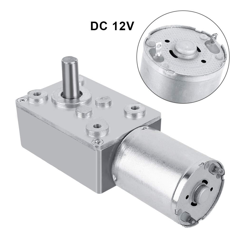 40RPM DC 12V Motor de Reducci/ón de Velocidad Motor de Engranaje Motor de Alta Tensi/ón Reversible