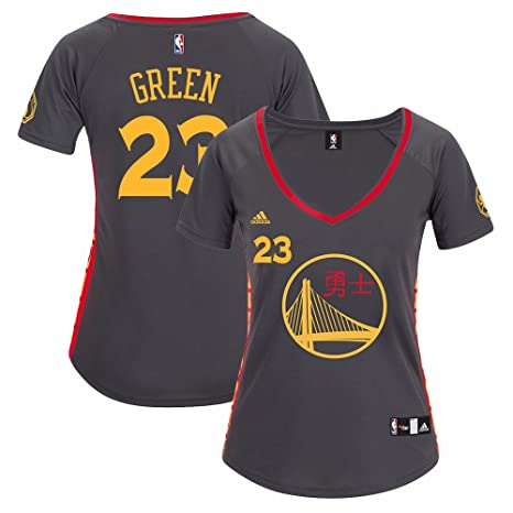 los angeles c68c2 3ad06 adidas Draymond Green Golden State Warriors NBA Women's Grey Replica Jersey