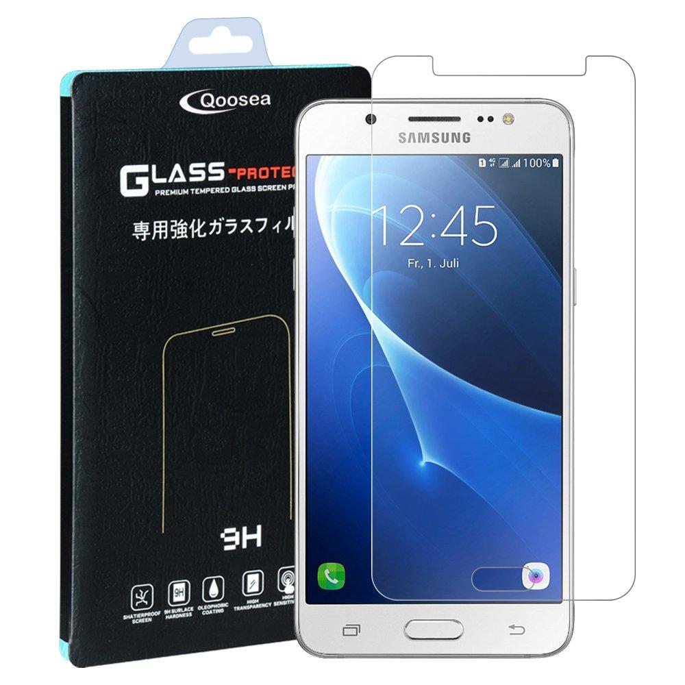Samsung Galaxy J5 2016 Protector de Pantalla, Qosea 2.5D Edge 9H ...