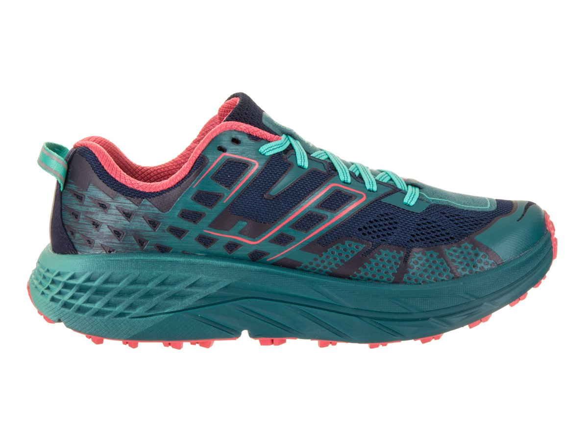 Hoka One One Women's Speedgoat 2 Trail Shoe (9.5, Peacoat/Ceramic) by Hoka One (Image #5)