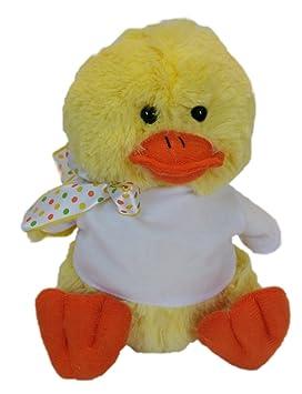 Pato de peluche (juguete) personalizado