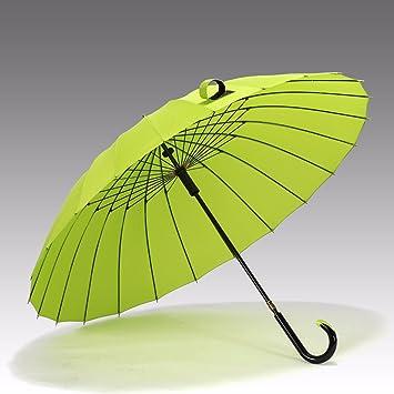 SSBY Nueva calidad boutique retro 24 huesos de hombres de negocios paraguas PARAGUAS paraguas mucho viento