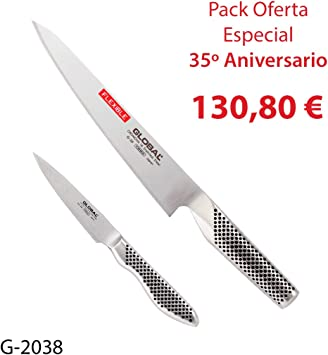 Global Pack 2 Cuchillos (G-20, GS-38) 35 Aniversario, G-2038 ...