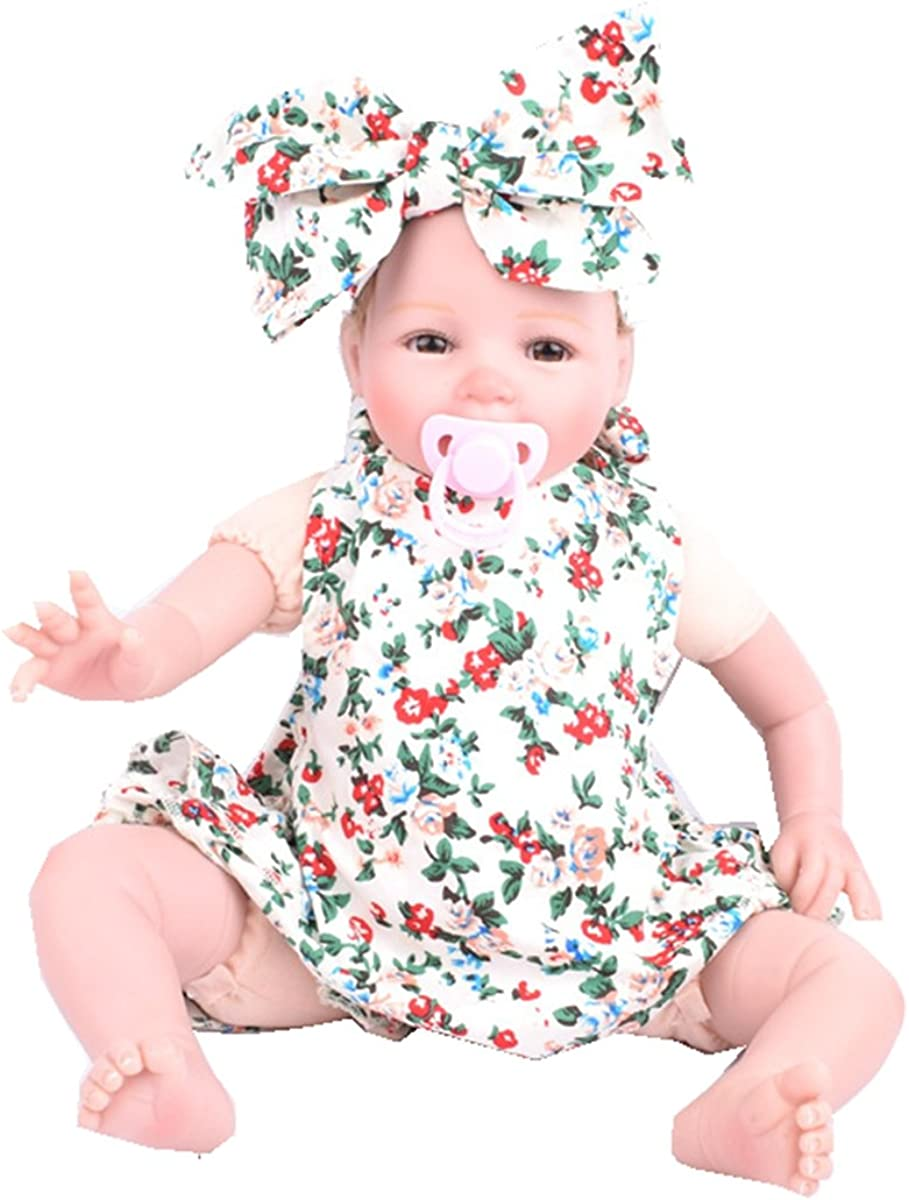 Baby Girls Diaper Cover Outfit Floral Soft Newborn Bloomer and Headband Set