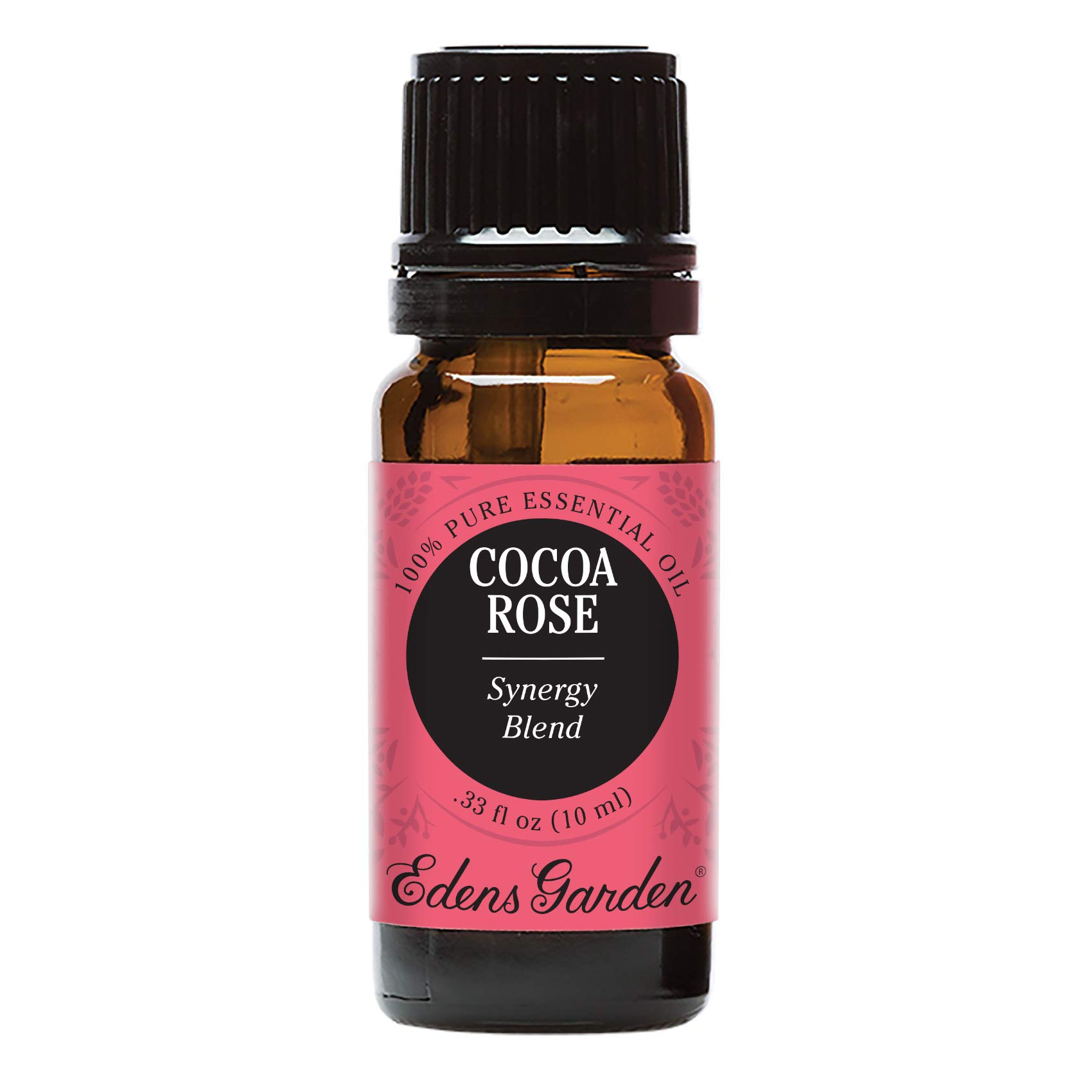 Edens Garden Cocoa Rose Essential Oil Synergy Blend, 100% Pure Therapeutic Grade (Highest Quality Aromatherapy Oils- Aphrodisiac & Stress), 10 ml by Edens Garden