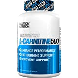 Evlution Nutrition L-Carnitine500 | 500 mg of Pure L Carnitine in Each Serving | Stimulant-Free | Capsules (120 Servings)