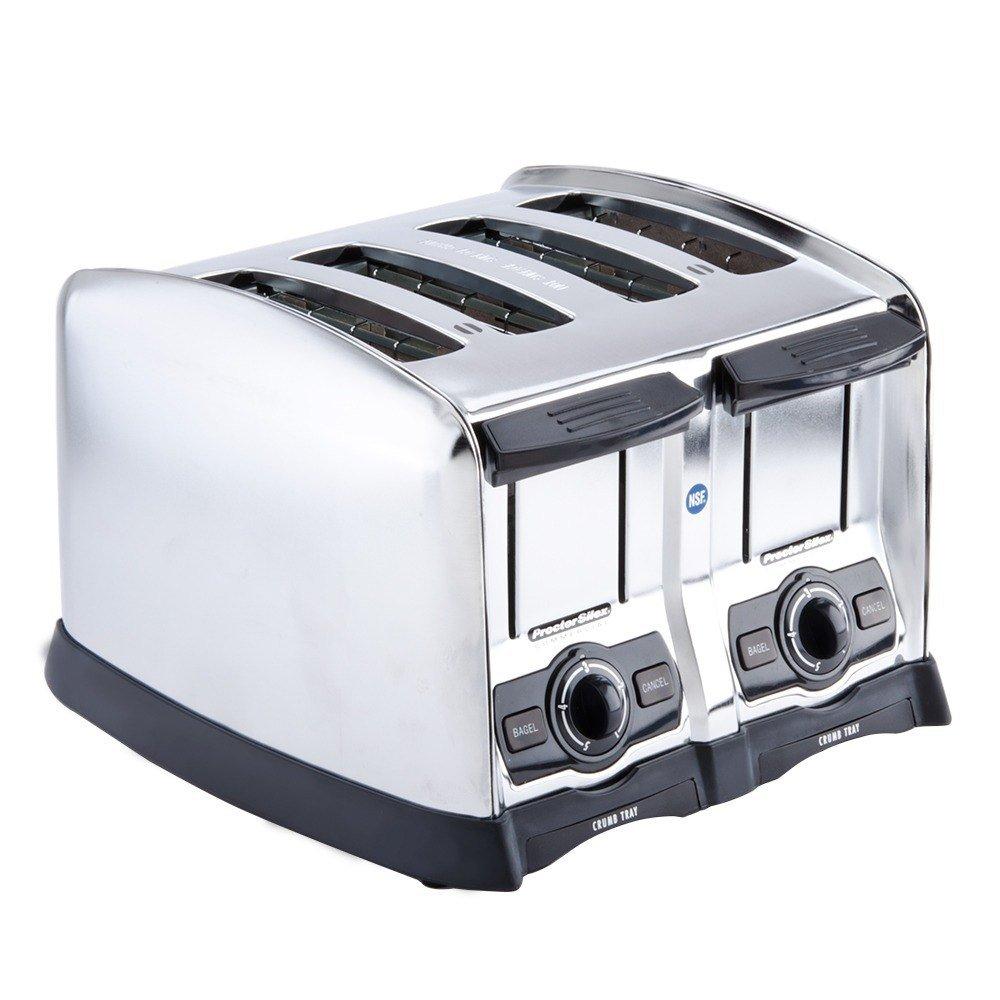Hamilton Beach Extra Wide Slot 4 Slice Toaster: Hamilton Beach 24850 4 Slice Extra-Wide Slot Commercial