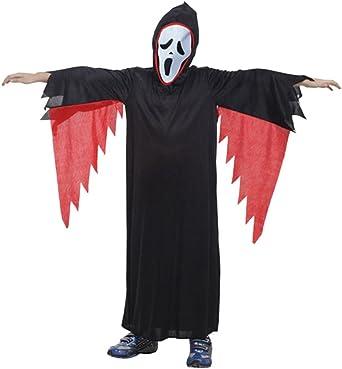 Biwinky niño Novelties disfraz de fantasma scream Ghost Face ...