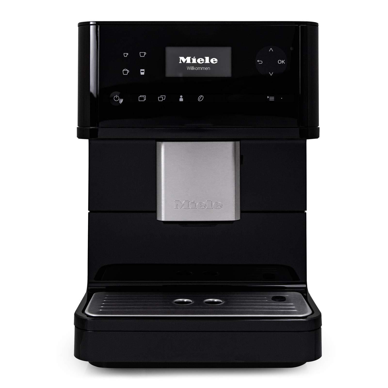 Miele CM6150 OneTouch Countertop Super Automatic Coffee & Espresso Machine (Obsidan Black) by Miele