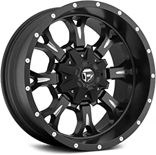 Fuel D517 Krank Matte Black Milled 20x9 6x135 / 6x5.5 1mm (D51720909850)