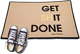 product image for HIGH COTTON Get Shit Done Welcome Doormat