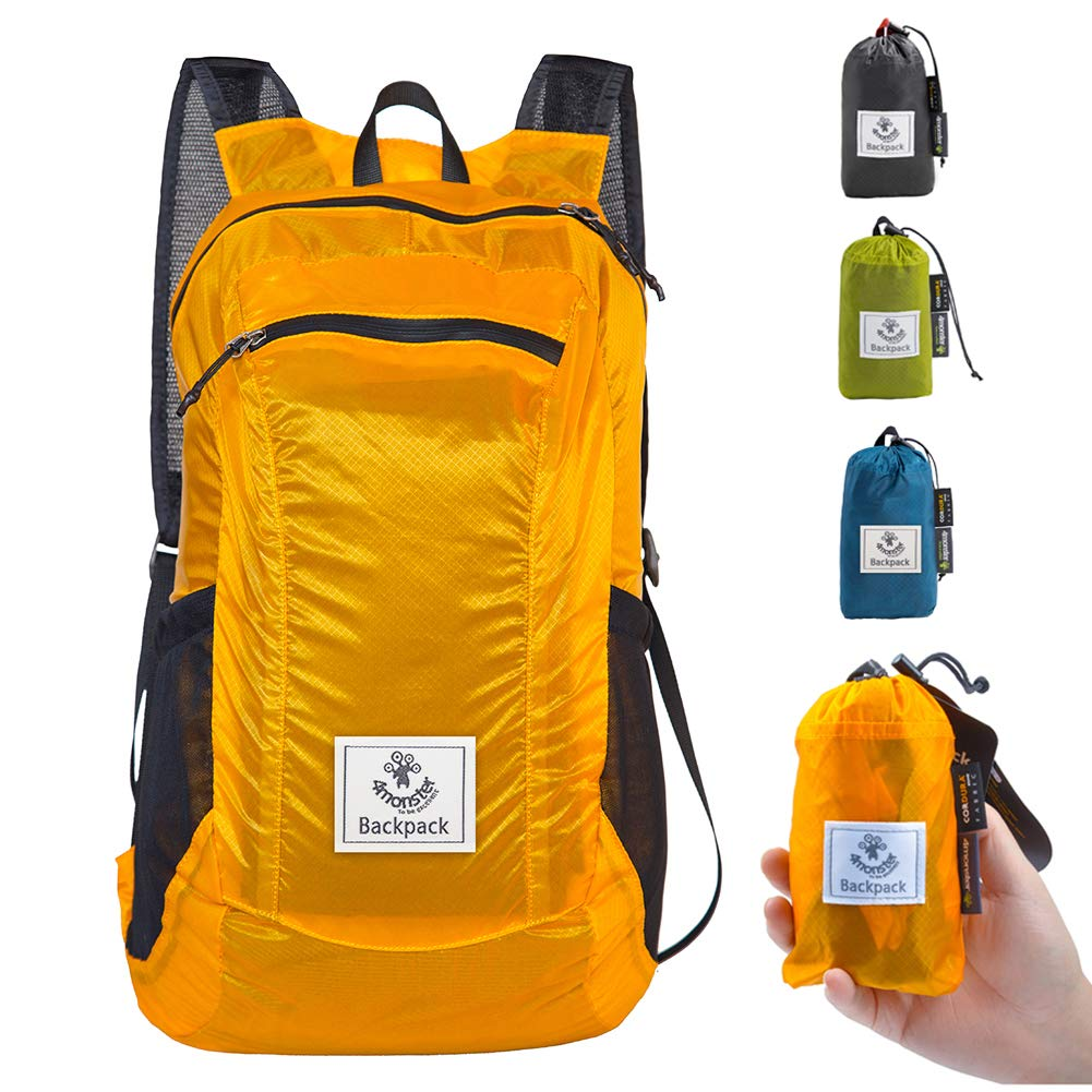 Climbing Bags Provided Waterproof Nylon Outdoor Breathable Mountaineering Bag Diamond Lattice Folding Backpack Wear Shoulder Bag