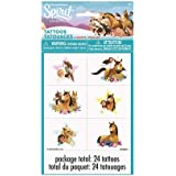 Spirit Riding Free Tattoos, 24 Ct.