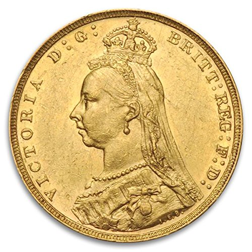 UK British Sovereign Victoria (Types Vary) Queen Victoria Gold Brilliant Uncirculated