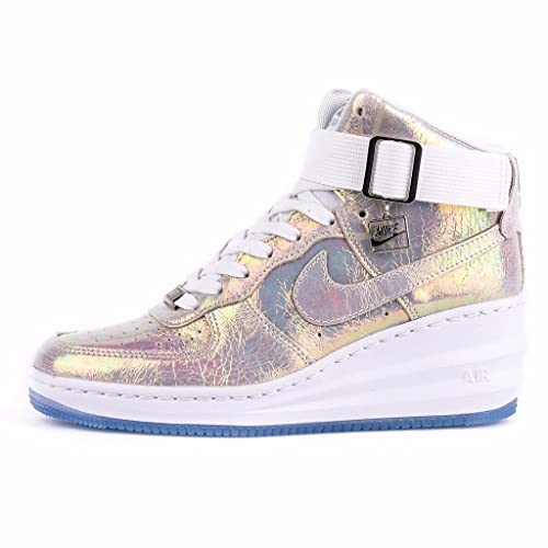 official photos 60d68 4b7fc Wmns Nike Lunar Force 1 Sky Hi Prm Qs (704518 100) Size 5 Amazon.ca  Shoes  Handbags