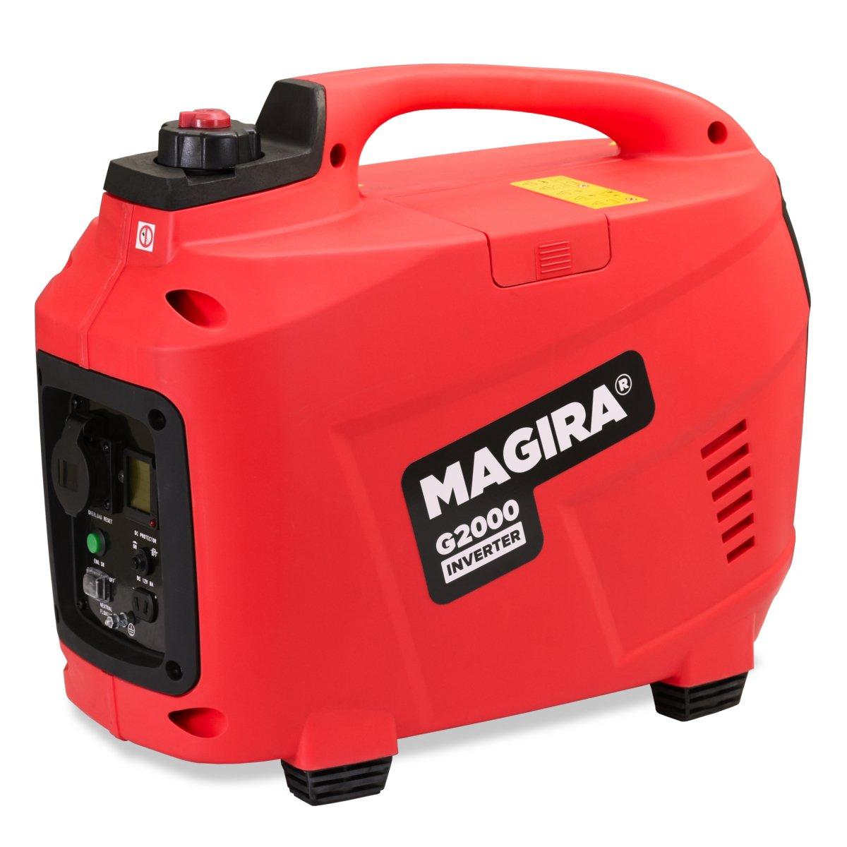 MAGIRA 2,0kW Digitaler Inverter Stromerzeuger, benzinbetriebener ...