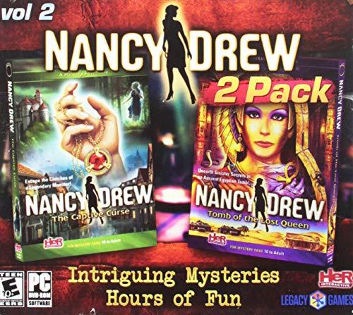 - Legacy Amazing Adventure Games Nancy Drew 2 Pack Vol 2