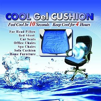 Amazon Com Fanless Summer Seat Self Cooling Gel Seat Cushion In Car