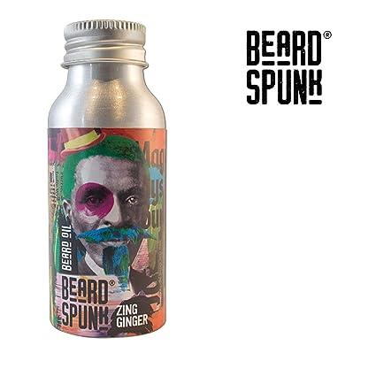 Barba Spunk - Edición Especial Zing Ginger Premium aceite de ...