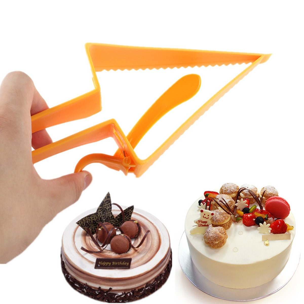 Nrpfell Triangle-Design Adjustable Cake Cutter Baking Tool Cake Slicer Baking Cutter Tool by Nrpfell (Image #4)