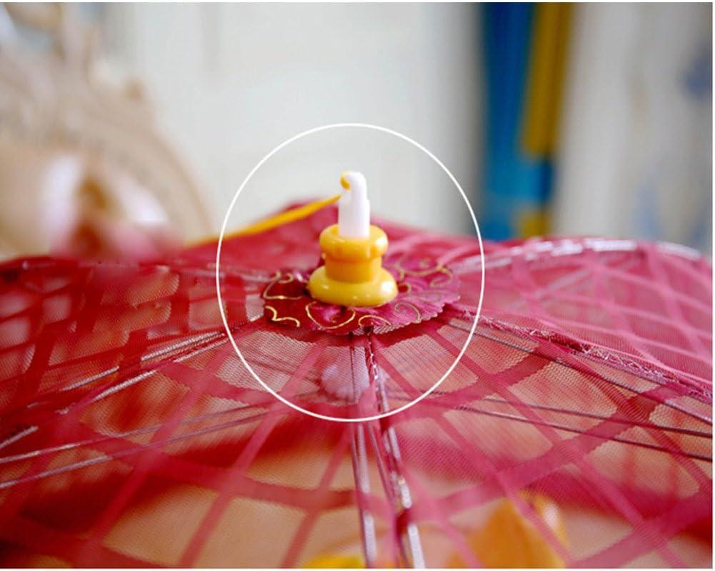 Parapluie De Tente Couverture Nette De Nourriture Garde Des Mouches,Red Couverture De Nourriture D/écran Couverture De Nourriture De Pique-Nique Ext/érieure R/éutilisable Et Pliable De 31 Pouces