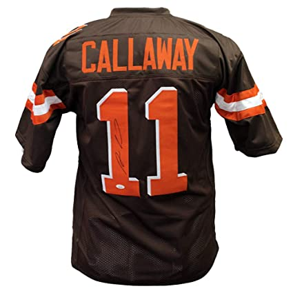 timeless design d2b9a d73d7 Antonio Callaway Cleveland Browns Autographed Signed Custom ...