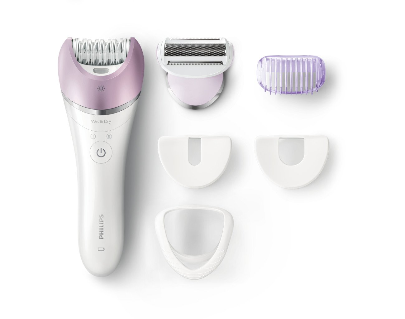 Philips Satinelle Advanced Epilator, Electric Hair Removal, Cordless Wet & Dry Use, (BRE635) by Philips Beauty