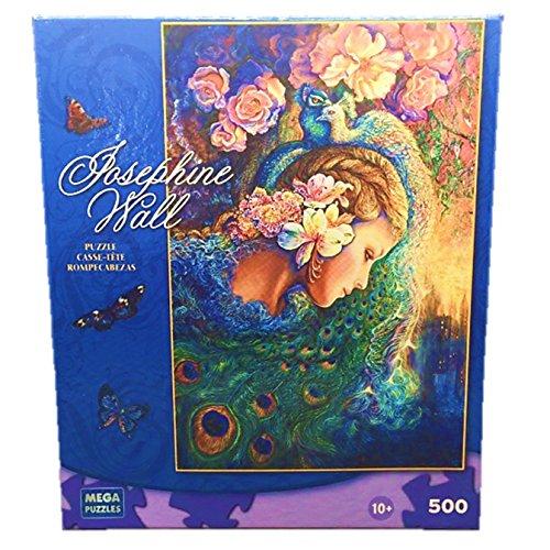Josephine Wall 500 Piece Jigsaw Puzzle: Peacock Daze