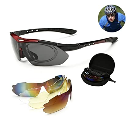 Gafas de sol polarizadas Aolvo - Gafas de sol deportivas ...