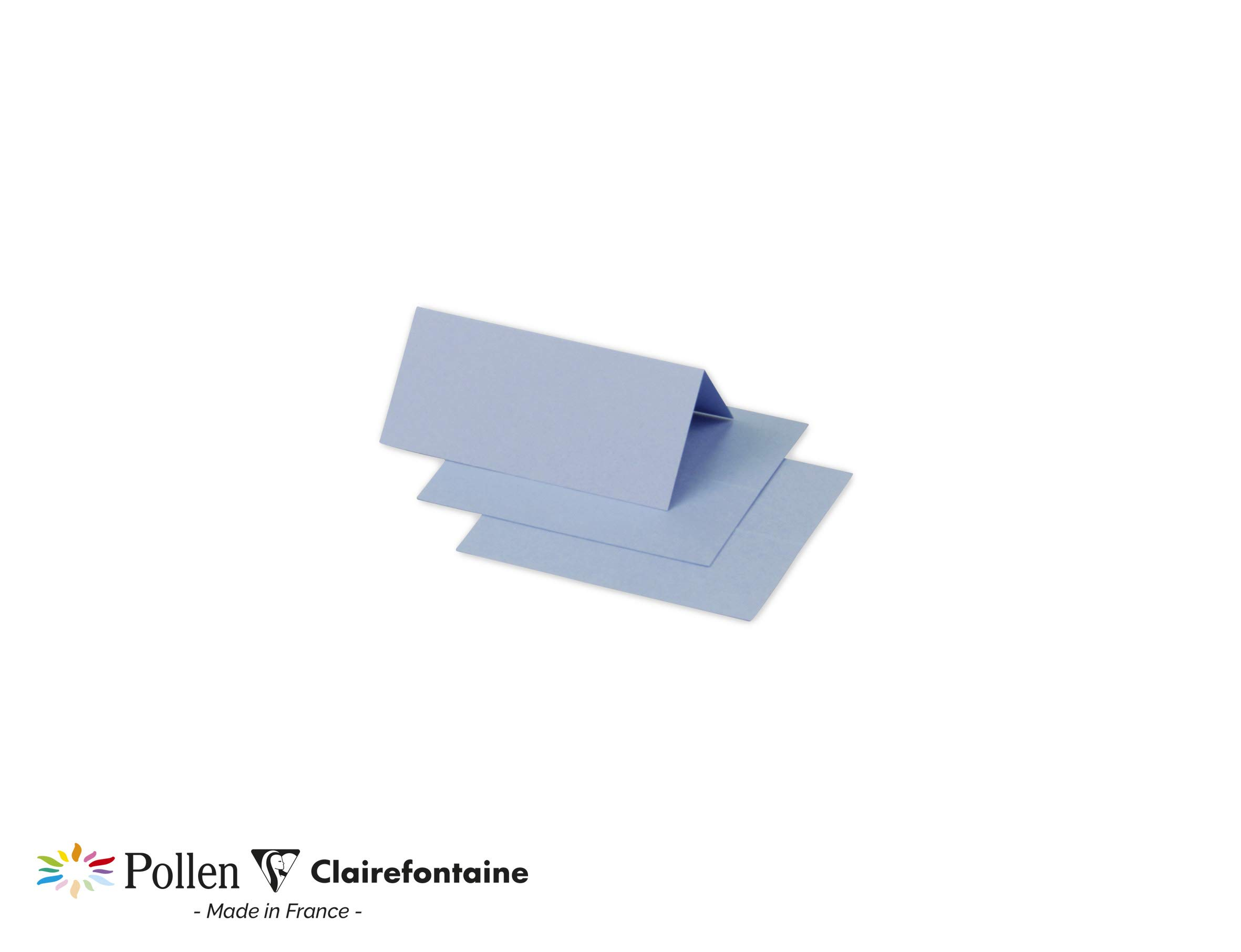 Clairefontaine Pollen Pack of 25–Ref 75039°C Laser 8x8,5cm, Lavender Blue
