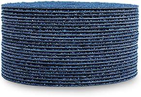 """5/"""" Zirconia Resin Fiber Disc 60 Grit 5 inch Grinding /& Sanding Discs 200 Pack"""
