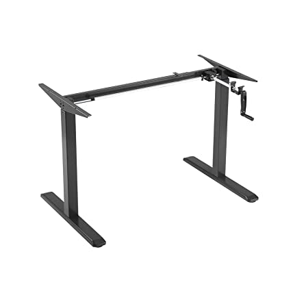 Amazon Com Mecor Manual Adjustable Stand Up Desk Width Height