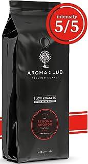 Aroma Club Café en Grano 1kg - Dark Roast Strong George – Café Brasil Tueste Lento