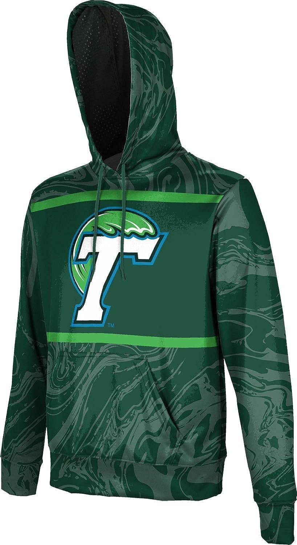 School Spirit Sweatshirt ProSphere Tulane University Mens Pullover Hoodie Ripple