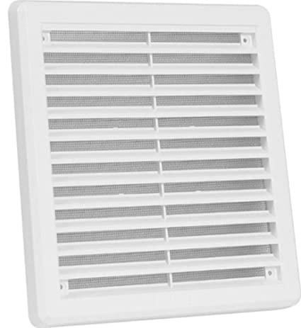 Access Panels UK Air Vent Grille Cover 200 X 200Mm (8X8Inch) Ventilation Cover